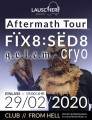 Ticket Lauscher Aftermath Tour mit Fix8:Sed8, g.o.l.e.m, Cryo, 29.02.2020, Erfurt1