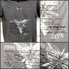 "Noyce TM - T-Shirt ""20 Years: 1996-2016 "", grey, Größe L1"