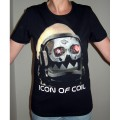 "Icon of Coil - Girlie Shirt ""Robot"", black, size L1"